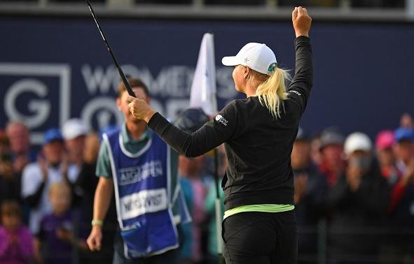 Anna Nordqvist Wins 2021 AIG Women's Open