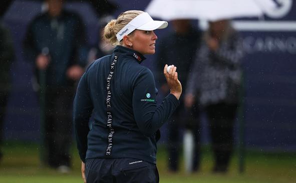 Nanna Koerstz Madsen Leads AIG Women's Open