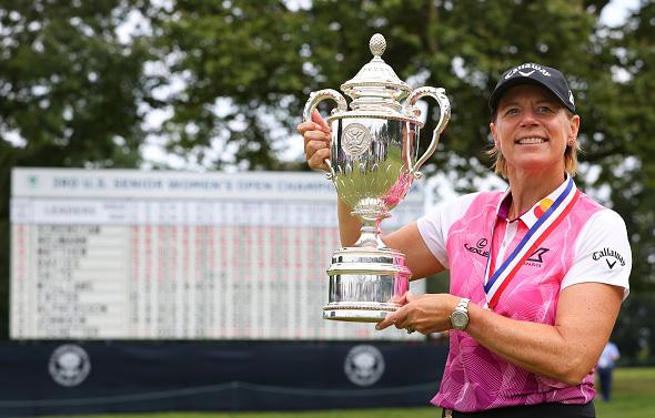 Annika Sorenstam Wins U.S. Senior Women's Open