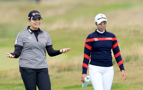 Ariya Jutanugarn Leads Women's Scottish Open