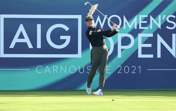 Charlie Hull AIG Women's Open Carnoustie