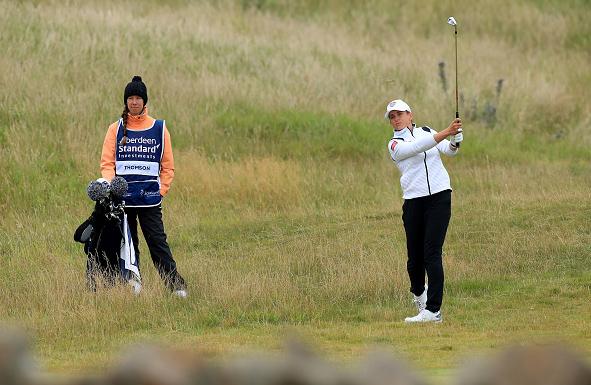 Michele Thomson Leads Scottish Open