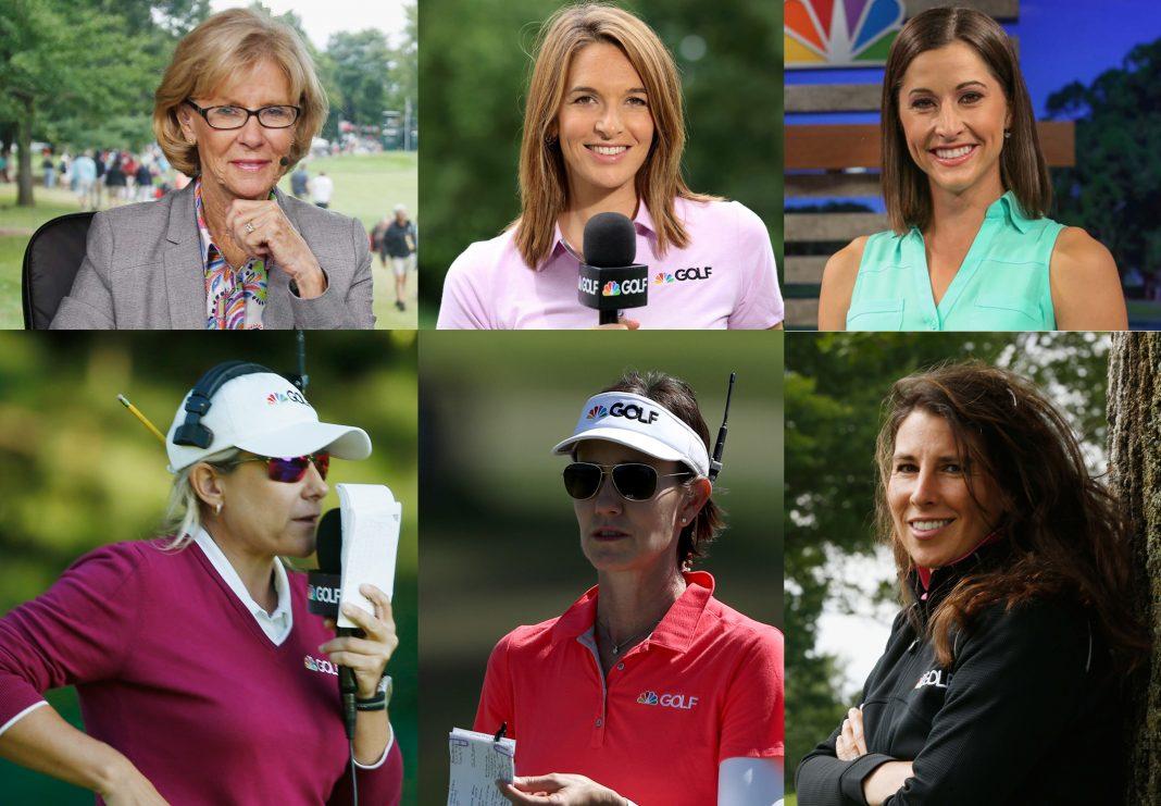 NBC Sports' All-Women's Golf Broadcast Team