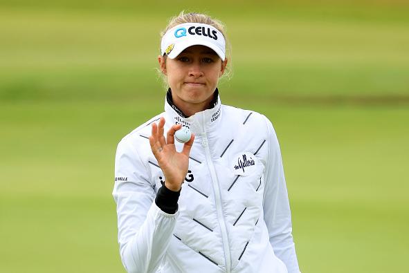 Nelly Korda Leads AIG Women's Open