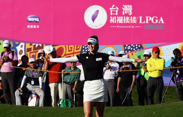 Nelly Korda Taiwan Swinging Skirts