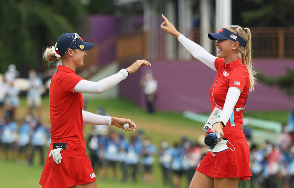 Nelly Korda Wins Olympic Gold Medal