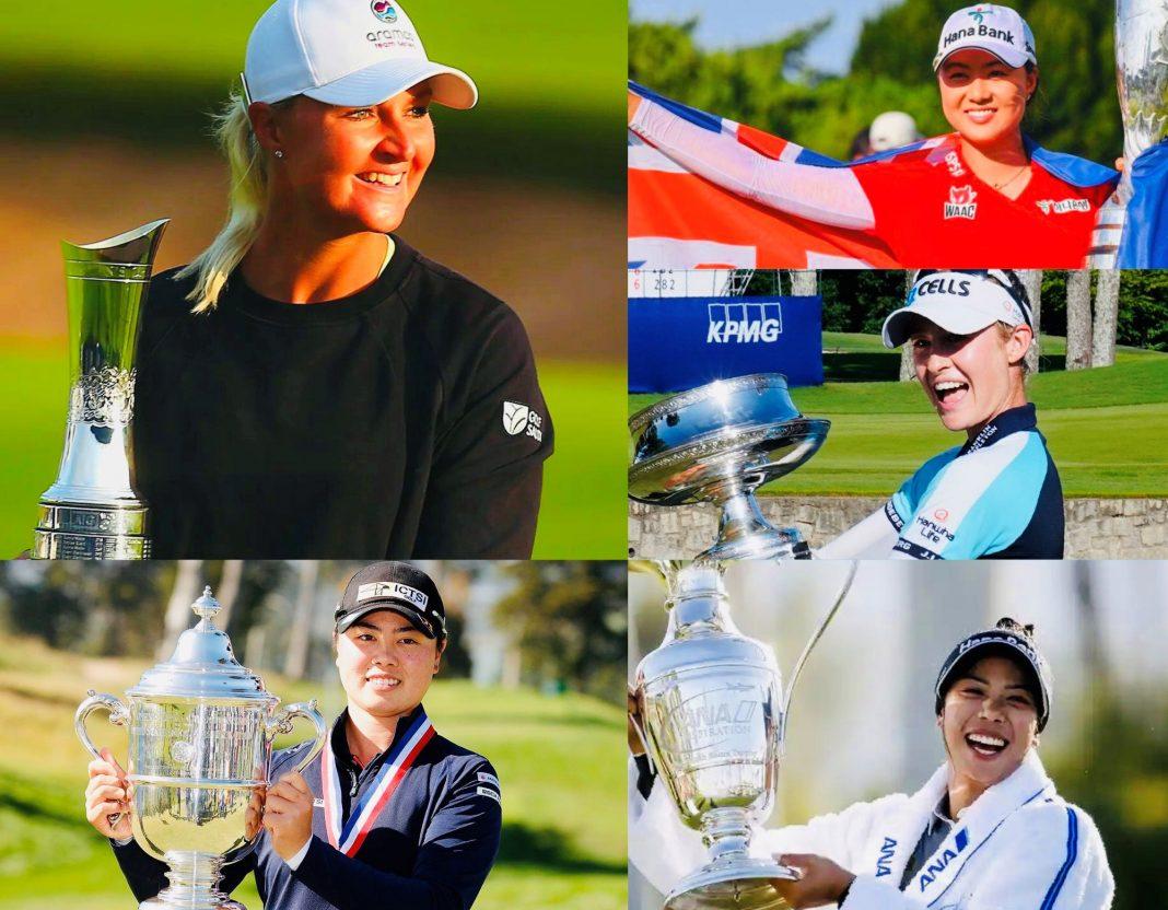 LPGA Tour's 2021 Major Winners