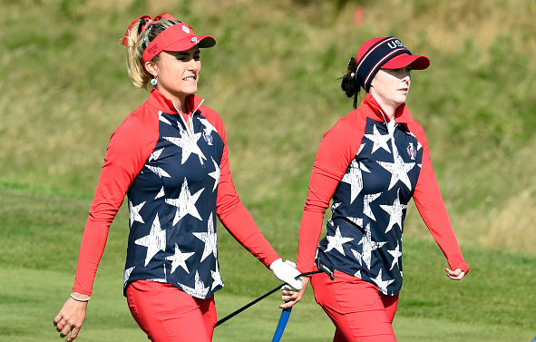 Solheim Cup Lexi Thompson Brittany Altomare
