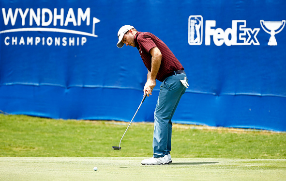 Russell Henley Leads Wyndham Championship Day One