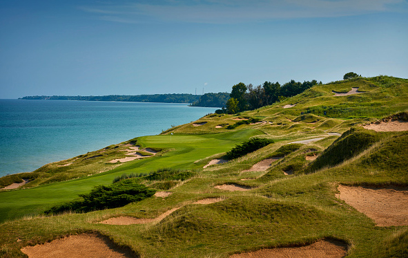 2021 Ryder Cup Whistling Straits 4th hole