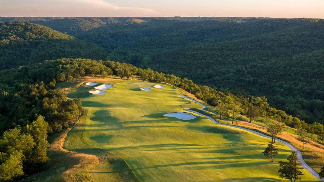 Tiger Woods' designed Payne's Valley at Big Cedar Lodge