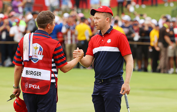 Team USA's Daniel Berger 43rd Ryder Cup at Whistling Straits