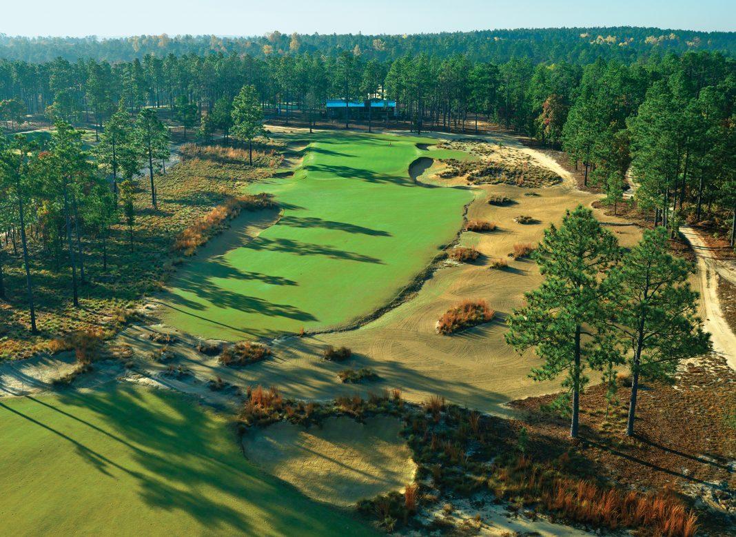 Dormie Club, West End, North Carolina - Golf course ... Dormie Club, West End, North Carolina