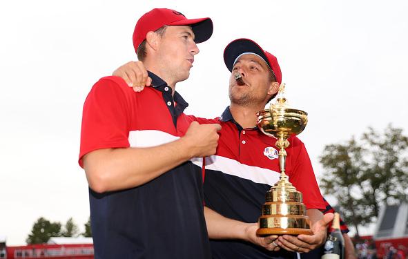 Team USA's Jordan Spieth Xander Schauffele Win 2021 Ryder Cup