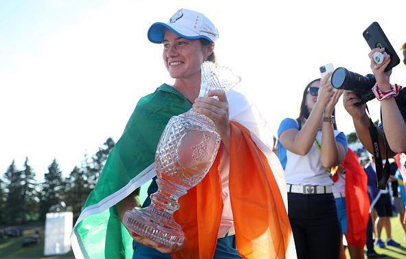 Ireland's Leona Maguire Solheim Cup