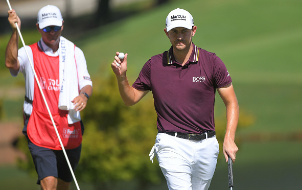 Patrick Cantlay Leads Tour Championship