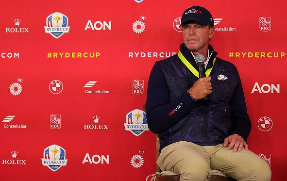 U.S. Ryder Cup captain Steve Stricker