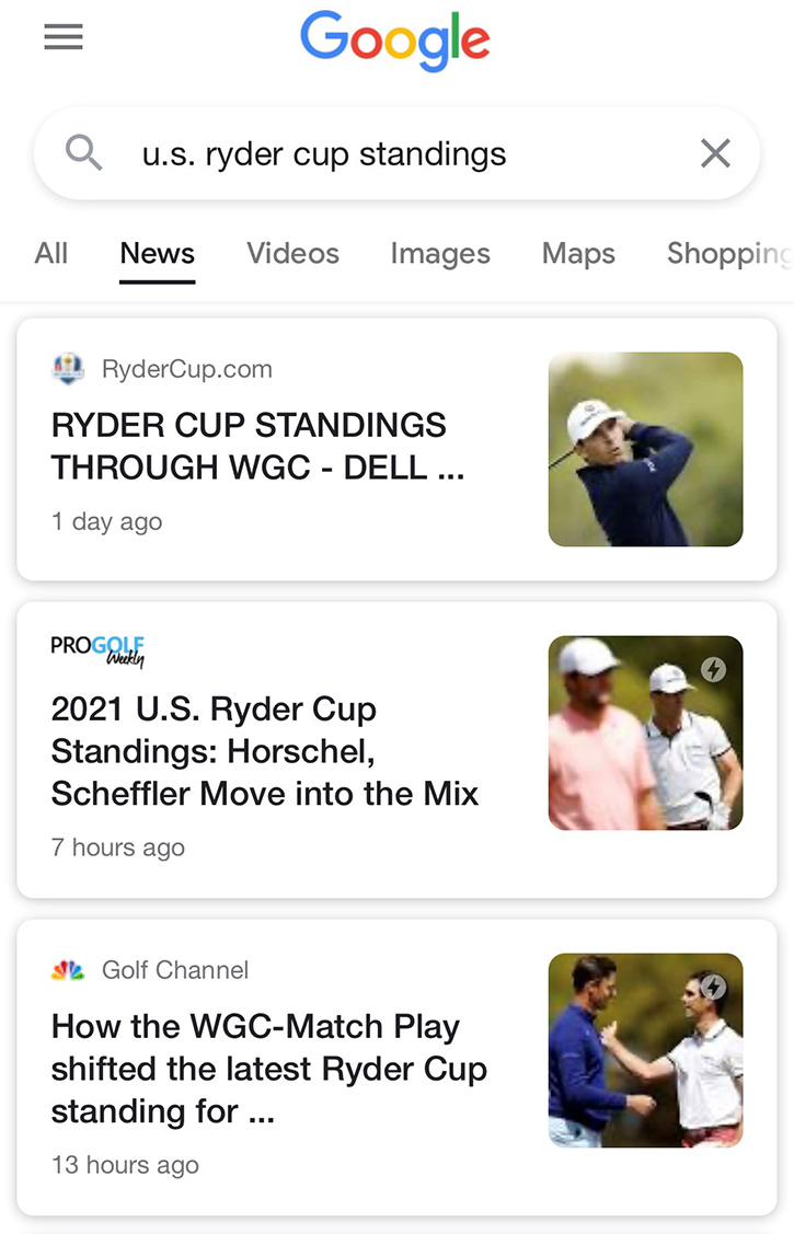 Pro Golf Weekly Ryder Cup Coverage